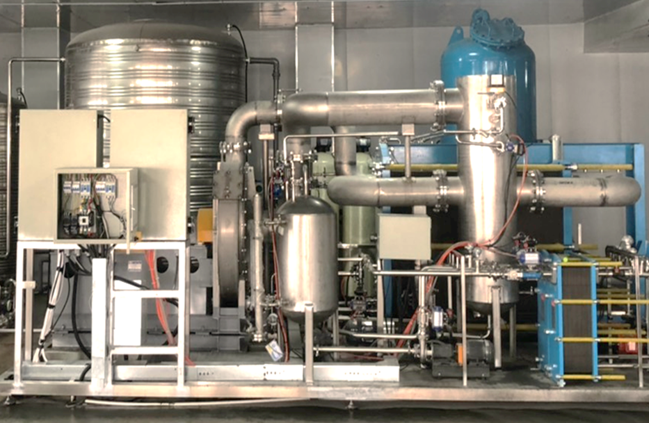 MVR 50CMD海水淡化設備